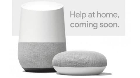 Google Home smart speakers to launch in India today