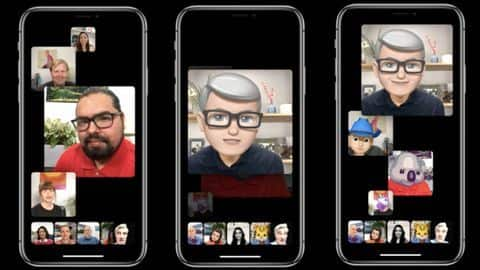 IOS 12.1 user guide confirms Group FaceTime, Dual SIM support