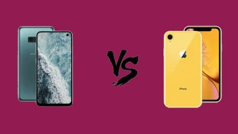 Samsung Galaxy S10e v/s iPhone Xr: Which one is better?