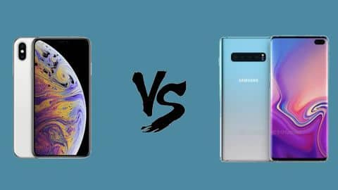 Galaxy S10+ v/s iPhone Xs Max: The battle royale