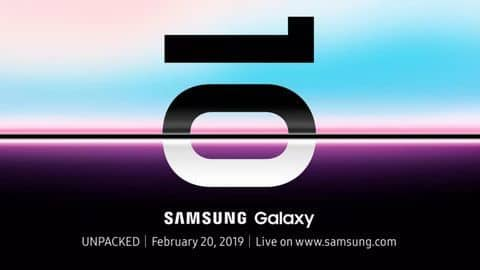 Confirmed: Samsung to launch Galaxy S10 smartphones on February 20