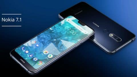 Nokia 7.1 At a glance