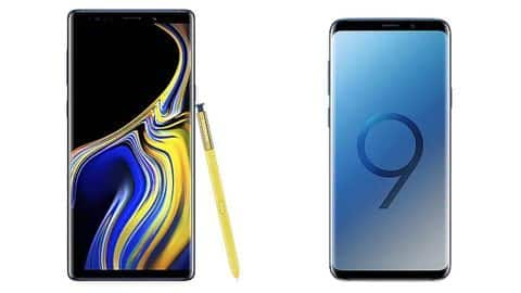 Samsung announces discounts, cashback on Galaxy Note 9, Galaxy S9+
