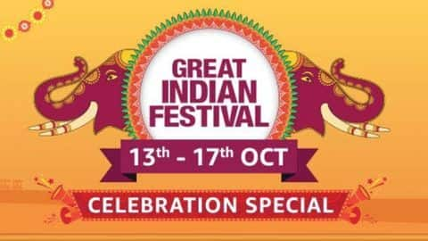 Amazon Great Indian Festival 2019 Celebration Special: Top deals, offers