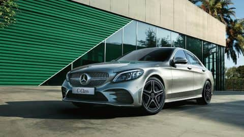 2018 Mercedes C-Class facelift launched in India for Rs. 40lakh