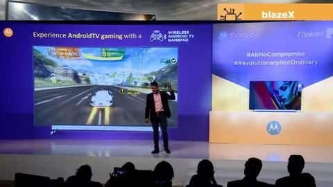 Motorola TVs launched in India, prices start at Rs. 14,000