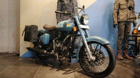 All about Royal Enfield Classic 350 Signals Edition