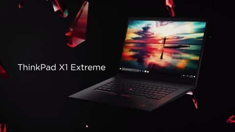 Lenovo ThinkPad X1 Extreme launched, priced at Rs. 2 lakh