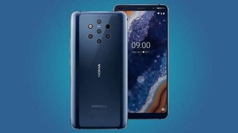 Nokia 9 PureView, with 5 cameras, to be launched soon