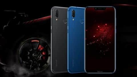 Honor Play launched in India: Price starts at Rs. 19,999