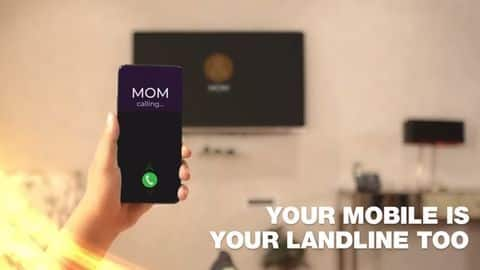 Reliance Jio users can now answer landline calls on smartphones