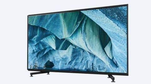 At Rs. 50lakh, Sony's TV costs more than a BMW