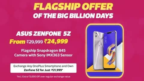 Flipkart reveals the lowest-ever prices on these top-selling ASUS smartphones