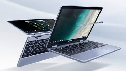 Samsung Chromebook Plus v2 launched with built-in stylus