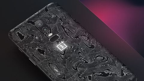 This limited edition OnePlus6 costs Rs. 2.26 lakh