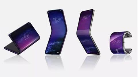 TCL's First Foldable Phone Can Bend Into A Smartwatch