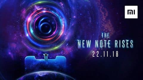 Xiaomi Redmi Note 6 Pro to launch on November 22