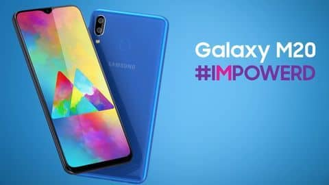 Samsung Galaxy M20 now available via open sale in India