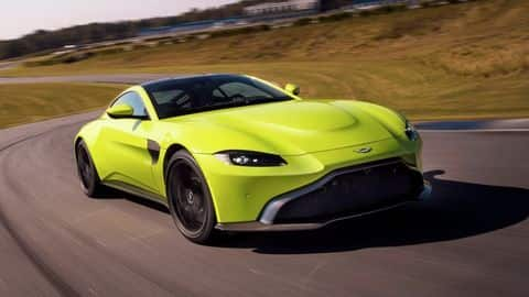 2019 Aston Martin Vantage launched in India for Rs. 2.95cr