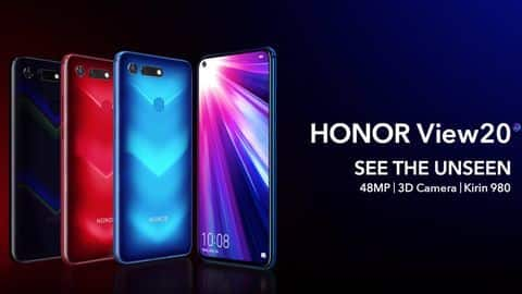 [Exclusive] Honor View 20 Indian Price Leaked ahead of the official launch