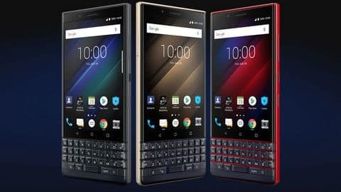 BlackBerry KEY2 LE launched in India for Rs. 29,990