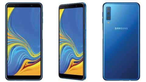 Galaxy A7: Samsung's first triple-camera smartphone to launch tomorrow