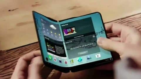 Samsung's foldable phone may feature three cameras