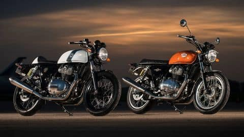 Royal-Enfield Interceptor 650, Continental GT 650 bookings open in India