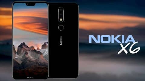 Nokia X6 launched with iPhone X-like notch, dual rear-cameras