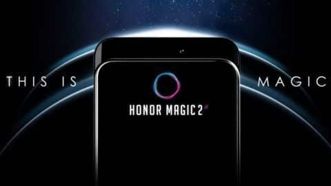Honor Magic 2 teased with OPPO Find X-like sliding camera