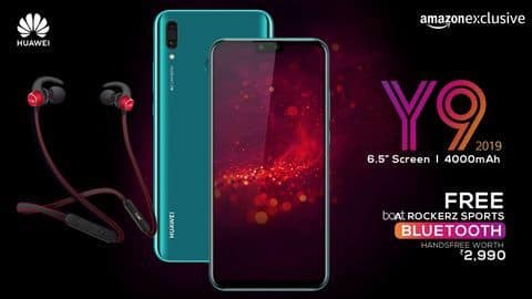 Huawei Y9 (2019) launches today: Details here