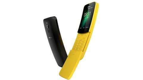 Nokia 8110 4G prices slashed, now starts at Rs. 4,999