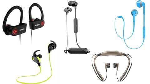 Top 5 Bluetooth earphones/headphones available under Rs. 4,000