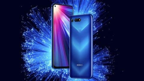 Honor V20: The world's first 48MP camera smartphone is here