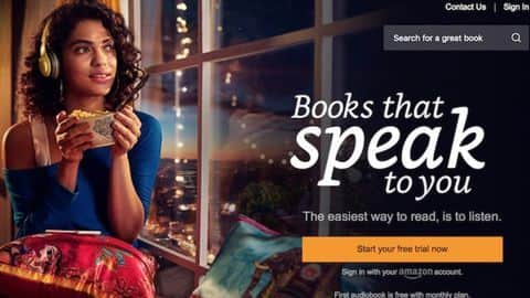 Amazon's Audiobooks Subscription Service Audible Launched in India