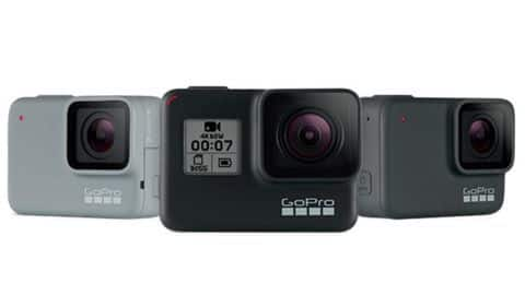 GoPro Hero 7 camera lineup launched, starting at Rs. 19,000