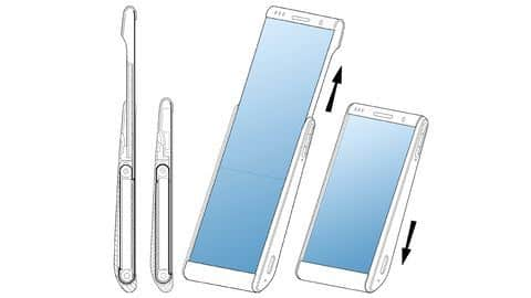 Samsung patent reveals phone design with rollable display