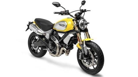 Ducati Scrambler 1100 launched in India for Rs. 10.91 lakh