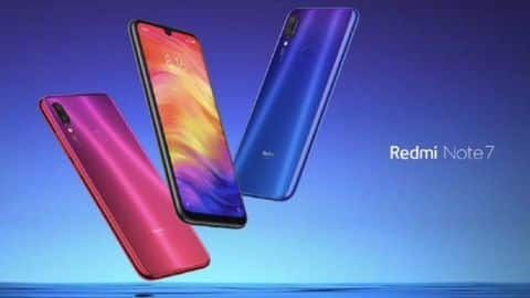 Redmi Note 7 with 48MP camera launching in India soon