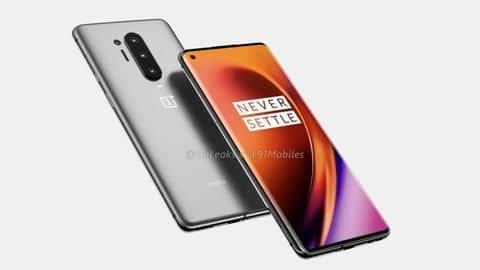 OnePlus 8 Pro renders reveal punch-hole design, quad rear-camera