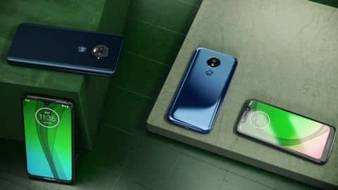 Moto G7 series launched in Brazil, global release in mid-February