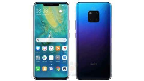 Huawei Mate 20 Pro's full specs and price leaked