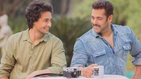 Salman gives voice-over for teaser of Aayush's 'Loveratri'
