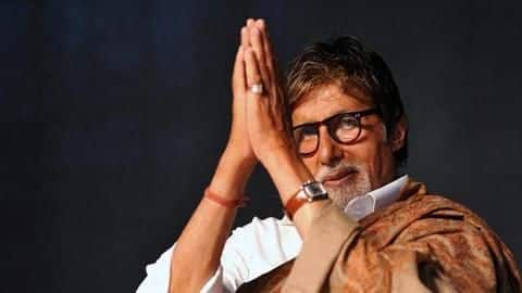 Amitabh Bachchan says he's fine; resumes 'Thugs Of Hindostan' shoot