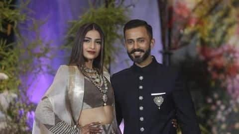 Not only Sonam, Anand too changed his name