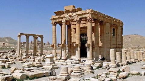 ISIS continues to destroy cultural heritage sites