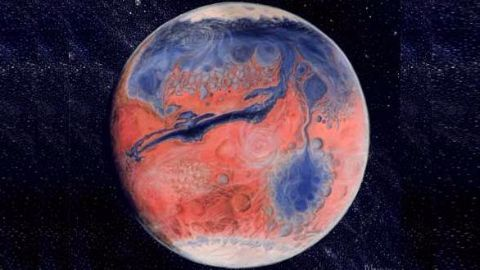 Mars was once home to a massive ocean