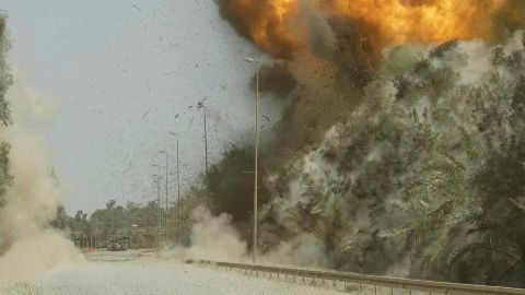 Iraq claims ISIS leader's convoy hit by airstrike