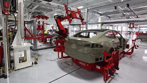 Where is Tesla's current production facility?