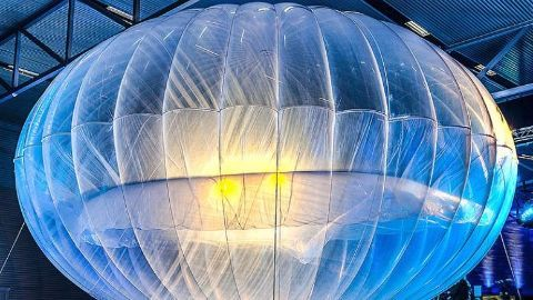 Google's Project Loon to provide internet